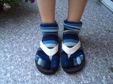 Socks and sandals for the sake of empathy